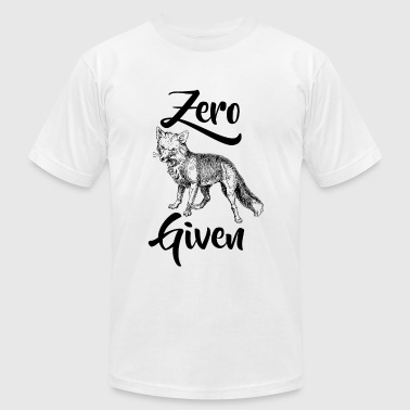 Fox - Zero Fox Given - Men's Fine Jersey T-Shirt