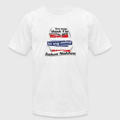 URLAUB HOME ROOTS TRAVEL I M IN Thailand Sakon Nak - Men's T-Shirt by American Apparel