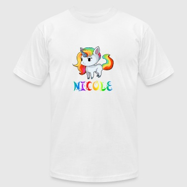 Nicole Unicorn - Men's Fine Jersey T-Shirt