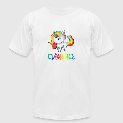 Clarence Unicorn - Men's T-Shirt by American Apparel