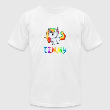 Timmy Unicorn - Men's Fine Jersey T-Shirt