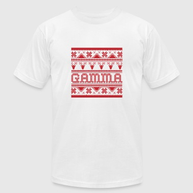 Christmas Ugly Xmas Sweater Gamma - Men's Fine Jersey T-Shirt