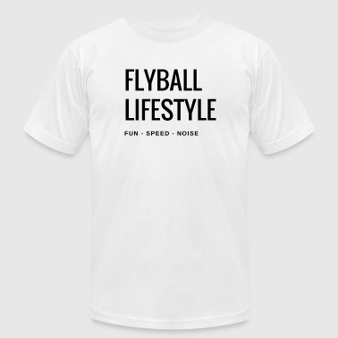 Flyball Lifestyle - Men's Fine Jersey T-Shirt
