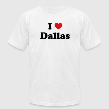 I love Dallas - Men's Fine Jersey T-Shirt