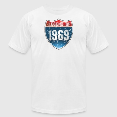 Legend Of 1969 - Men's T-Shirt by American Apparel