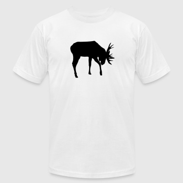 Moose - Men's Fine Jersey T-Shirt