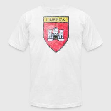 Limerick Coat of Arms Ireland - Men's Fine Jersey T-Shirt