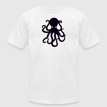 octopus - Men's T-Shirt by American Apparel