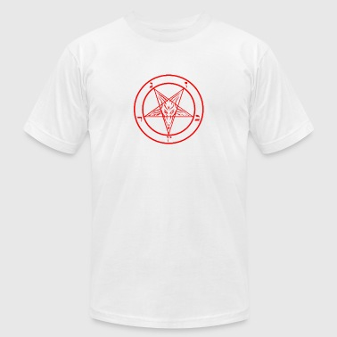 baphomet - Men's T-Shirt by American Apparel