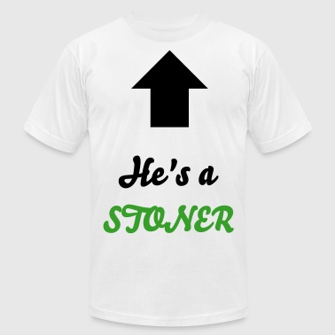 She's a STONER - Men's Fine Jersey T-Shirt