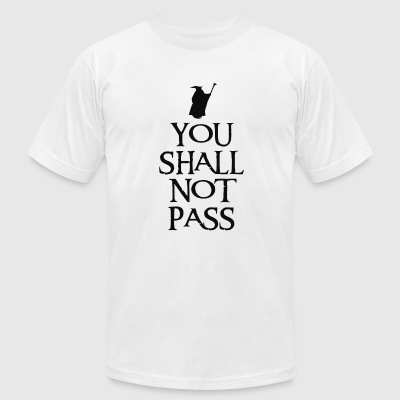 You shall not pass - Men's T-Shirt by American Apparel