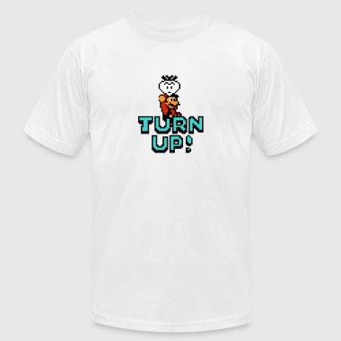 Turn Up - Men's T-Shirt by American Apparel