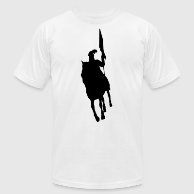 Hazrat Abbas Alamdar - Men's T-Shirt by American Apparel