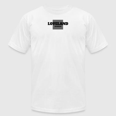 COLORADO LOVELAND US STATE EDITION - Men's Fine Jersey T-Shirt