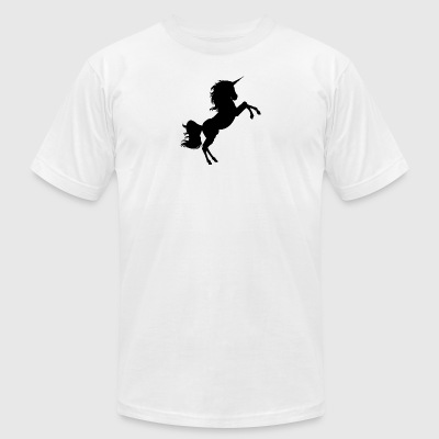 Fantasy Unicorn - Men's T-Shirt by American Apparel