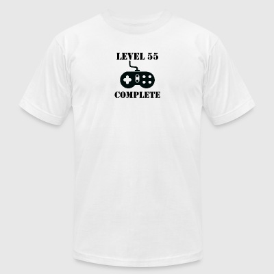 Level 55 Complete 55th Birthday - Men's T-Shirt by American Apparel