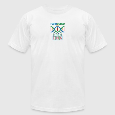 DNA - Color - Men's T-Shirt by American Apparel
