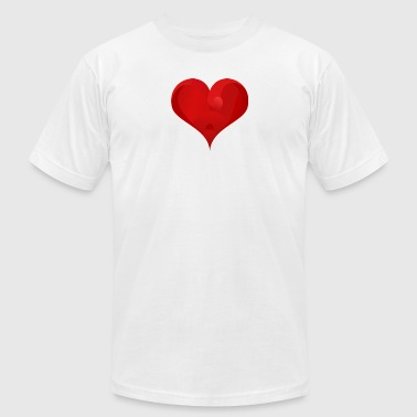 valenitne - Men's T-Shirt by American Apparel