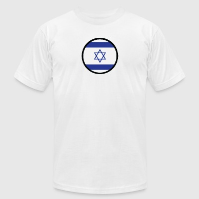 Under The Sign Of Israel - Men's T-Shirt by American Apparel