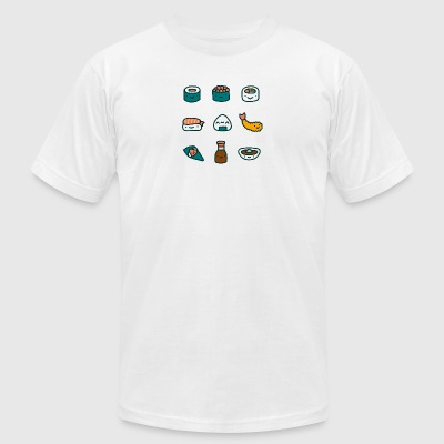 Sushi Lover - Men's T-Shirt by American Apparel