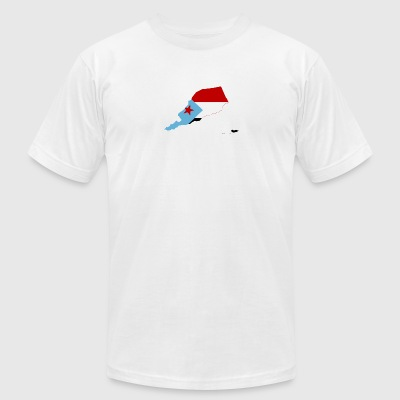 South Yemen Clothing/Supplies - Men's T-Shirt by American Apparel