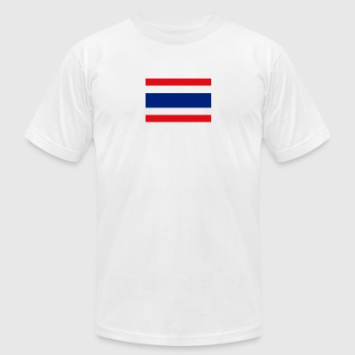 National Flag Of Thailand - Men's T-Shirt by American Apparel