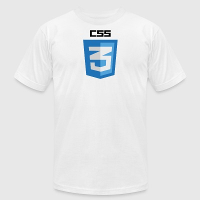 CSS 3 - Men's T-Shirt by American Apparel