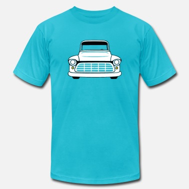 1956 1955-56 Chevrolet Truck - Men's Jersey T-Shirt