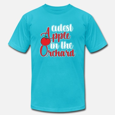 Orchard Cutest apple in the orchard - Unisex Jersey T-Shirt