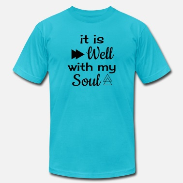 Well Versed It Is Well With My Soul - Men's  Jersey T-Shirt