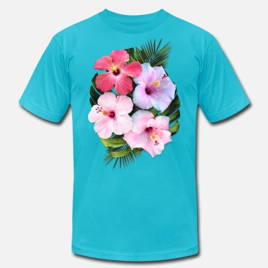 Nature AD Flowers - Unisex Jersey T-Shirt