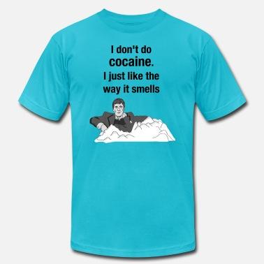 hot sale online f1968 47a8c Smell ocaine - tony montana Men's Premium T-Shirt | Spreadshirt