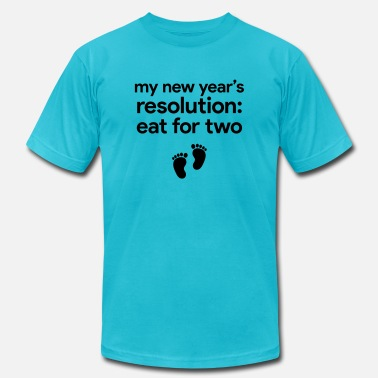 New Rave New Year Resolution - Unisex Jersey T-Shirt