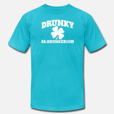 Funny Irish DRUNKY McDRUNKERSON - Unisex Jersey T-Shirt