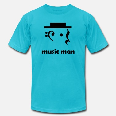 music man - Unisex Jersey T-Shirt