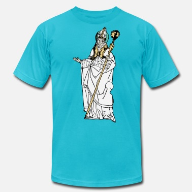 Pope Simple Old Pope - Unisex Jersey T-Shirt