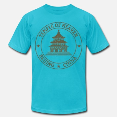 Temple Temple of heaven - Unisex Jersey T-Shirt