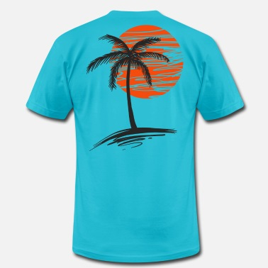 Palm Trees Palm Tree - Unisex Jersey T-Shirt