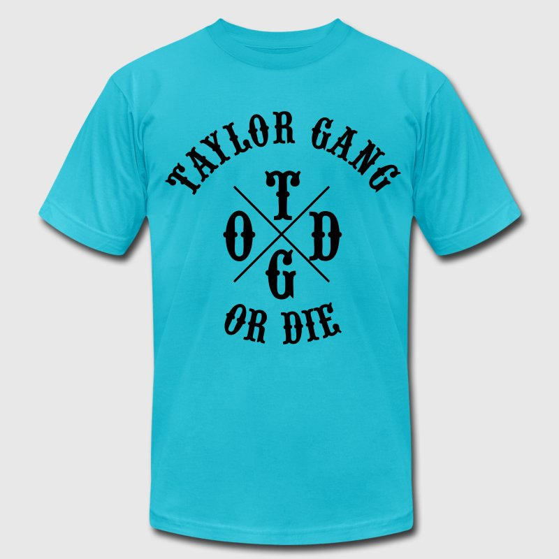 Taylor Gang or Die - Men's Fine Jersey T-Shirt