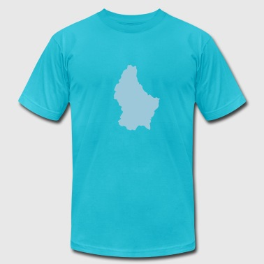 Luxembourg - Men's Fine Jersey T-Shirt