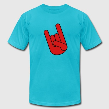 Rock Hand - Men's Fine Jersey T-Shirt