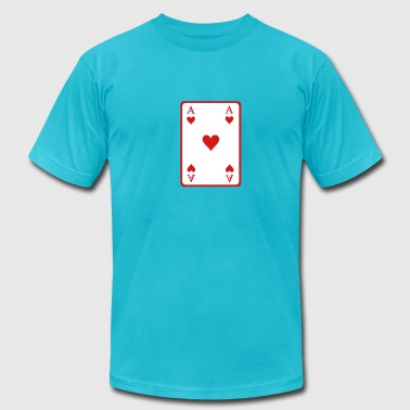 Poker ace - Men's Fine Jersey T-Shirt