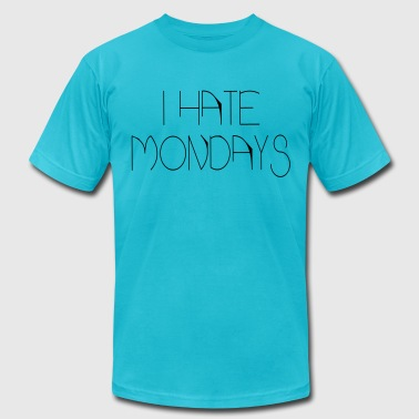 i hate mondays - Men's Fine Jersey T-Shirt