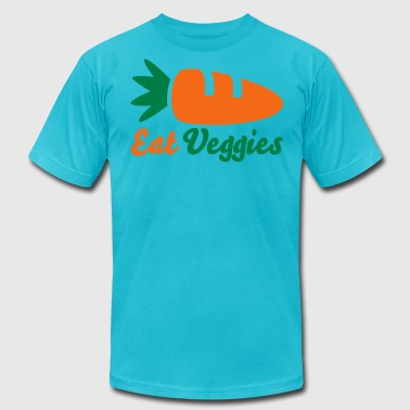 Eat Veggies - Men's Fine Jersey T-Shirt