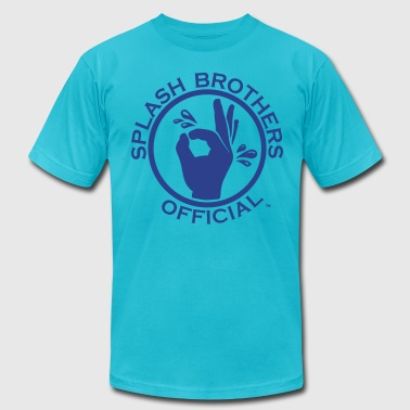SPLASH BROTHERS OFFICIAL 2 - Men's Fine Jersey T-Shirt