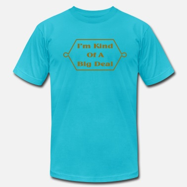 Anchorman Quotes I'm Kind Of A Big Deal Anchorman Quote - Men's  Jersey T-Shirt