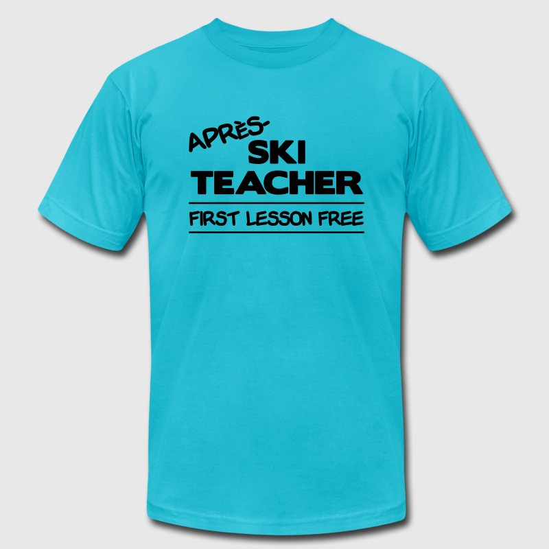 Apres Ski Teacher - Men's Fine Jersey T-Shirt