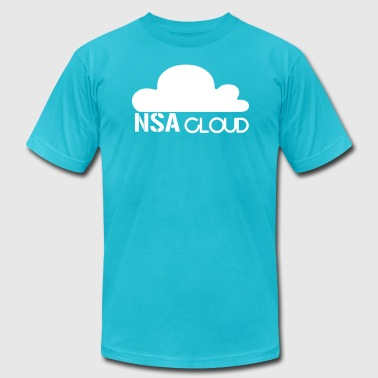 NSA in the Cloud - Men's Fine Jersey T-Shirt