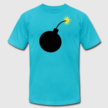 simple bomb - Men's Fine Jersey T-Shirt