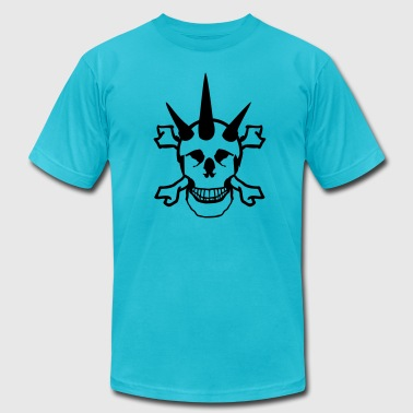 Punk Skull - Men's Fine Jersey T-Shirt